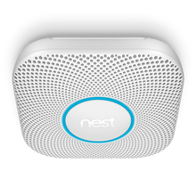 Nest Protect Battery Smoke & Carbon Monoxide Alarm - 2nd Generation - On The Ceiling