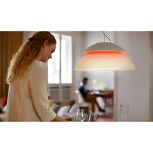 Philips Hue Beyond Pendant Light - In The Home Warm Glow