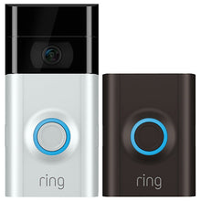 Ring Video Doorbell 2 Satin Nickel & Venetian Bronze