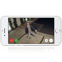 Ring Spotlight Security Camera - Wired - White
