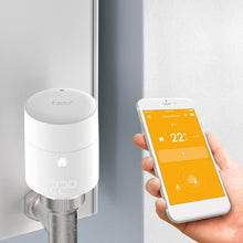 tado° Vertical Smart Radiator Thermostat Starter Kit - Smartphone