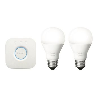Philips Hue White LED Smart Light Bulb Starter Pack – E27 (Screwfix)