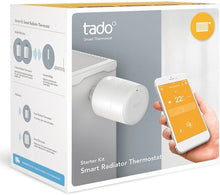 tado° Horizontal Smart Radiator Thermostat Starter Kit - Boxed