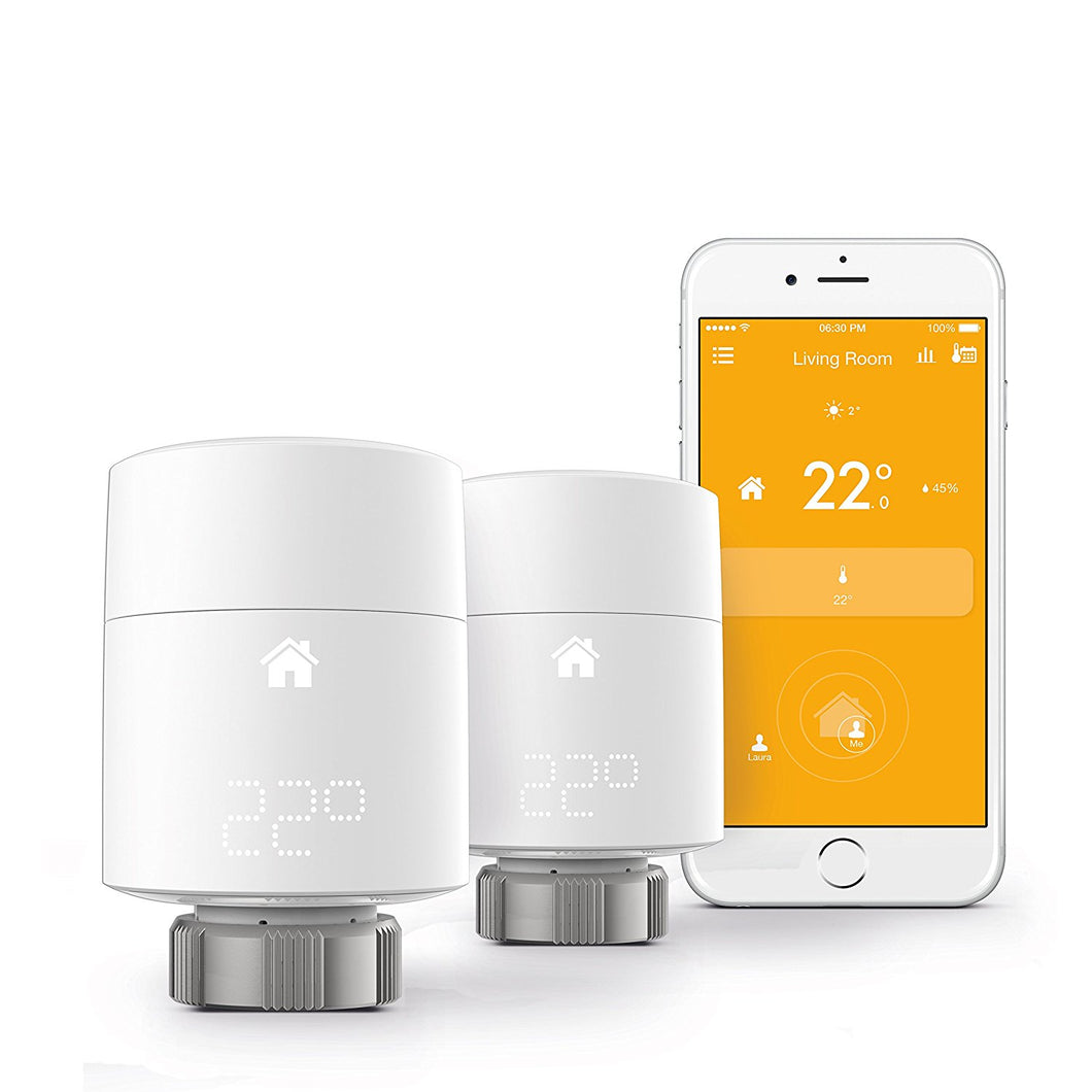 tado° Horizontal Smart Radiator Thermostat Starter Kit