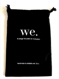WE. Custom Poem Bag