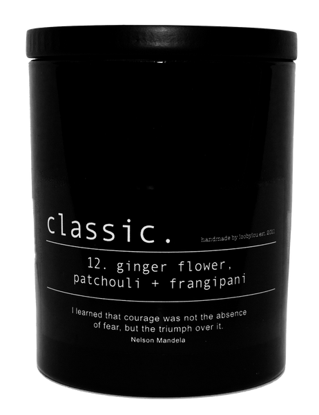 Classic. Black 350ml Boxed Candle