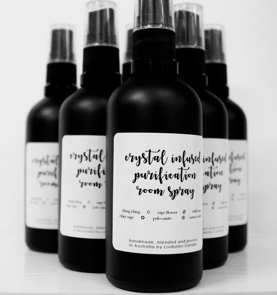 Purification Crystal Infused Room Spray