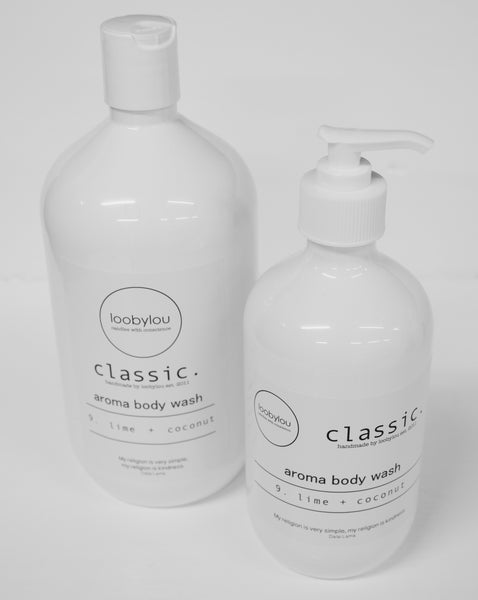 Classic. Aroma Hand Wash   (500ml pump or 1 litre refill)