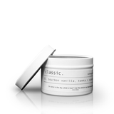 Classic. White 120ml Travel TIn
