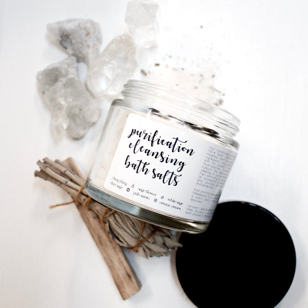 Purification Intention Cleansing Bath Soak