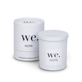 WE. Large Boxed Candle ( a range focused on inclusion)