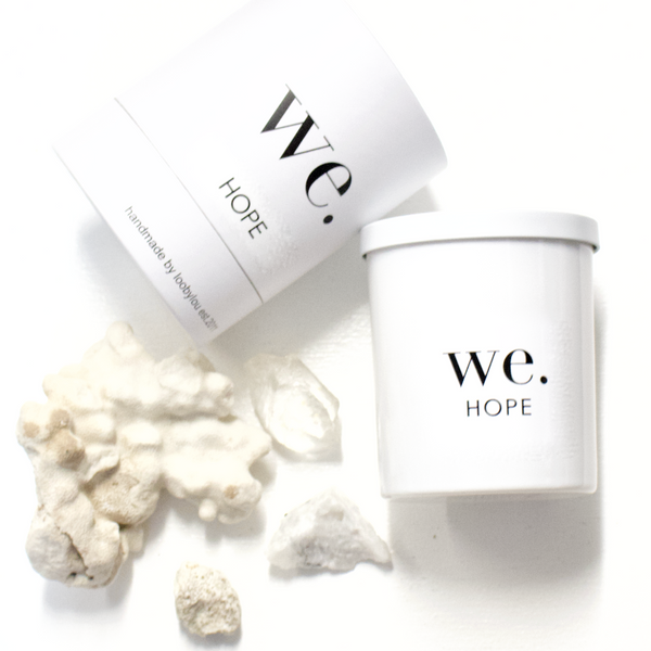 WE. Candle ( a range focused on inclusion)