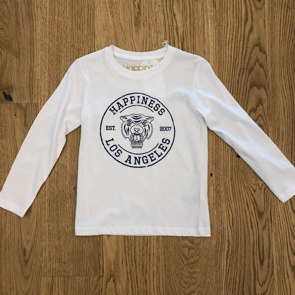 "Happiness T-Shirt m/lunga Kids Boy ""Leone"" K_TLONG_2200"