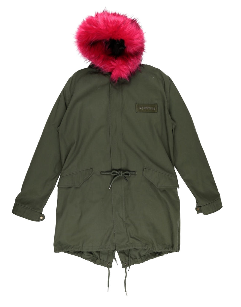 Parka PARKAG Fuxia/Militare Happiness