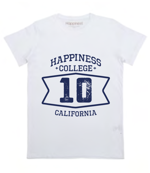 "Happiness T-Shirt Kids Boy ""College 10"" B1689"