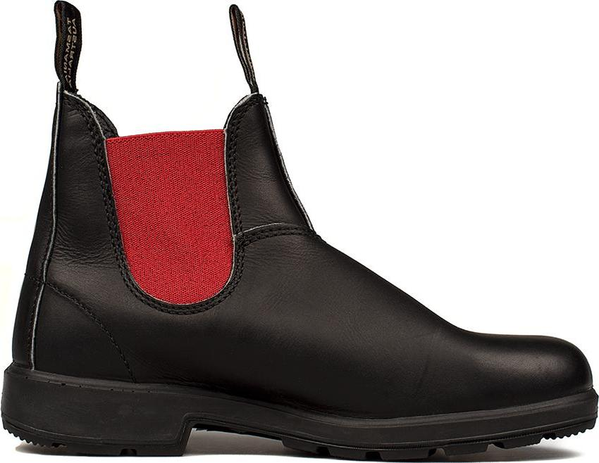 BLUNDSTONE  ROSSO EL SIDE BOOT BLACK LEATHER 508