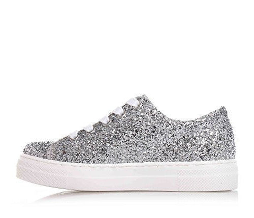 CULT Love low 362 glitter silver DONNA