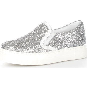 CULT Love slip-on 394 glitter silver KIDS