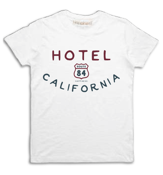 "Happiness T-Shirt Kids Boy ""Hotel California"" B1675"