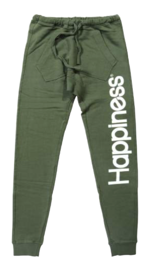 "Happiness Turca Kids Pantalone ""SLIM"" Mility Green Verde"