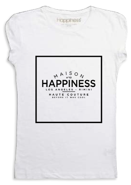 "Happiness T-Shirt Kids Girl ""Maison Happiness"" G1229"