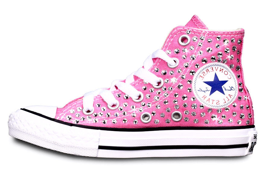 All Star Junior Swarovski Rosa