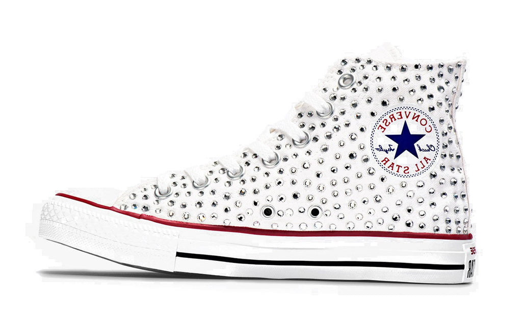 All Star Junior Swarovski Bianca