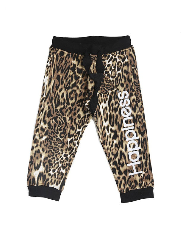 Happiness Turca Kids Pantalone Leopard