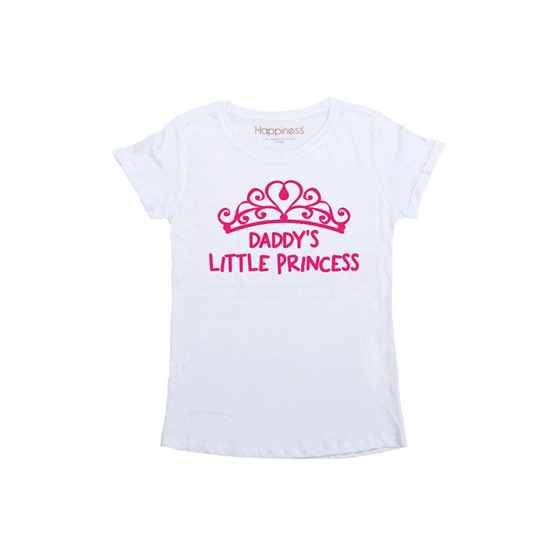 "Happiness T-Shirt Kids Girl ""Daddy's little princess"" G2208"