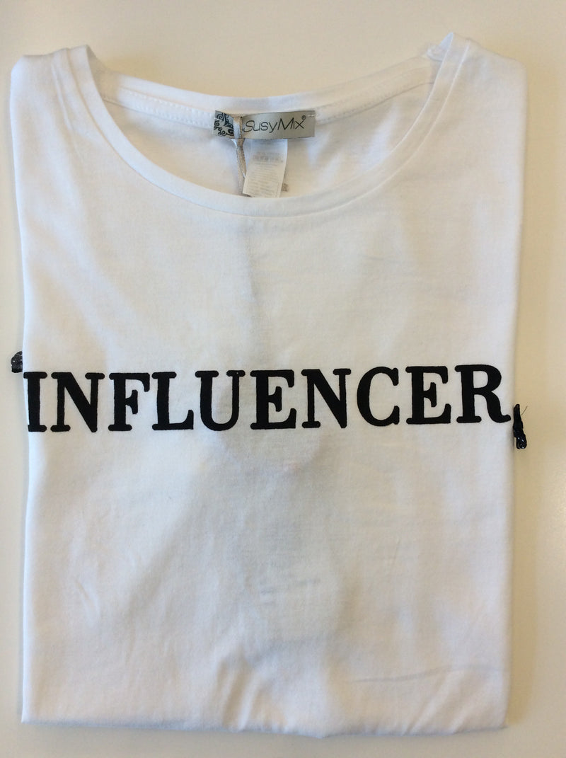 "T-Shirt ""Influencer"" LTN10 Susy Mix"