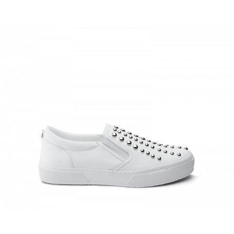 CULT LOVE SLIPON 540 VEGAN LEATHER Bianca WHITE DONNA CLJ101713