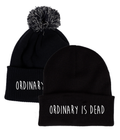 Ordinary is Dead Black Beanie