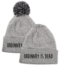 Ordinary is Dead Grey Beanie