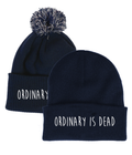 Ordinary is Dead Navy Beanie