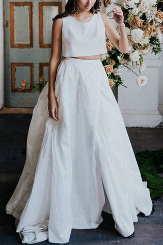 products/2270_Simple_Two_Pieces_A-Line_Sleeveless_Slit_Long_Wedding_Dress_2_570.jpg