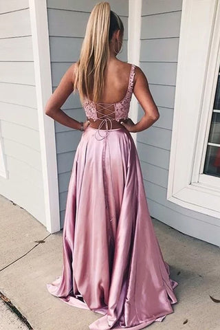 products/A-line_Two_Pieces_Square_Neck_Appliques_High_Slit_Prom_Dress.jpg