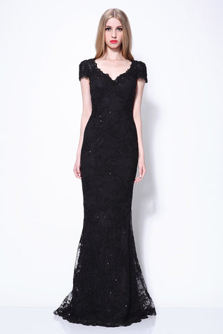 products/Black-Mermaid-Cap-Sleeves-Lace-Beaded-Wedding-Prom-Dress_610.jpg