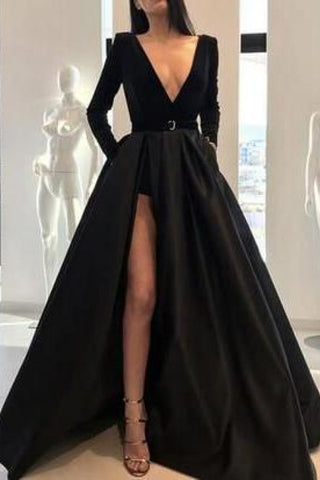 products/Black_V-neck_Velvet_Long_Sleeves_Evening_Gown_With_Slit_216_1024x1024_0fb723e5-7608-45ee-98d6-8b77f7a2ad76.jpg