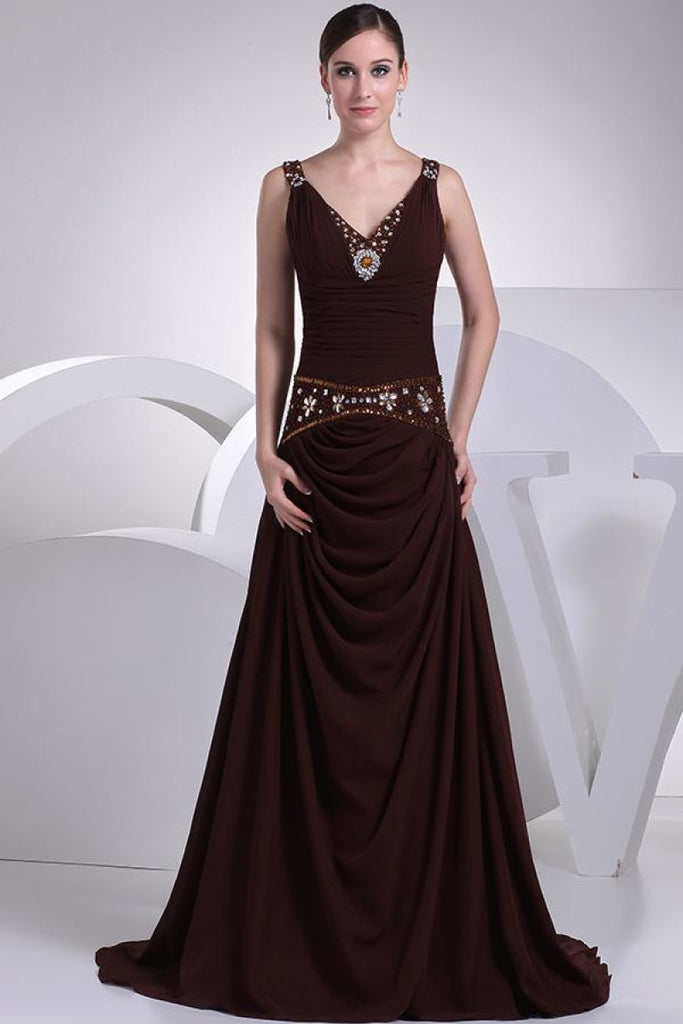 Fabulous Luxury A-line Beaded Prom Wedding Dress