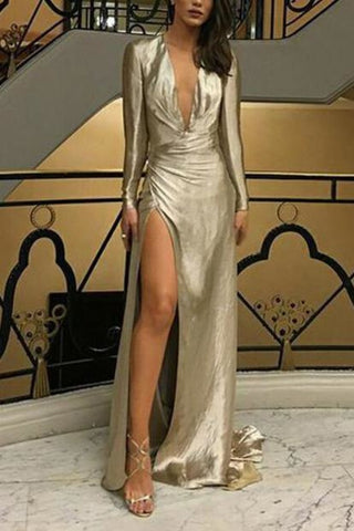 products/Sexy_Silver_Deep_V-neck_Slit_Closed_Long_Sleeves_Prom_Dress_760.jpg