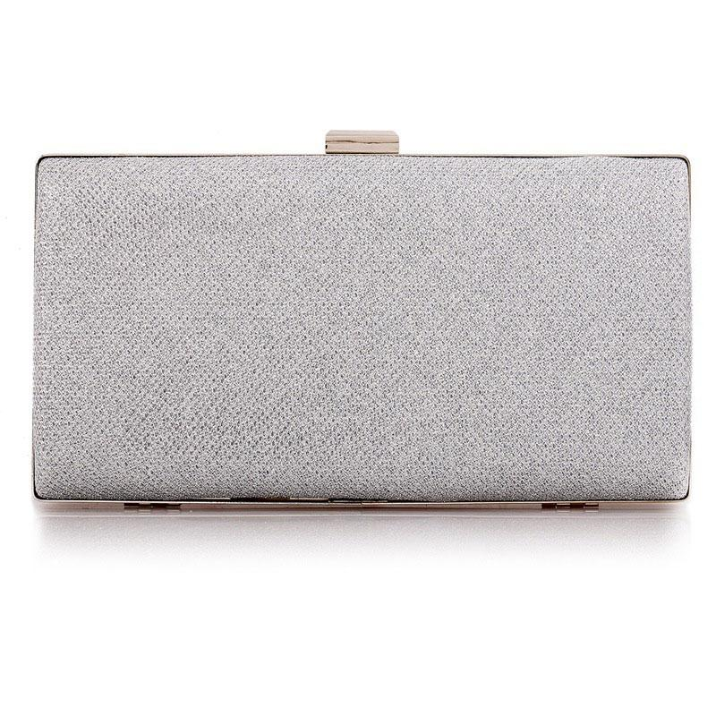 Silver Sparkly Women's Party Clutch