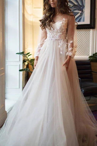 products/White_Tulle_Flower_Lace_Open_Back_Princess_Wedding_Ball_Gown_390.jpg