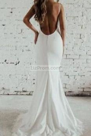products/White_V-neck_Spaghetti_Straps_Long_Mermaid_Slit_Chiffon_Lace_Wedding_Prom_1_517.jpg