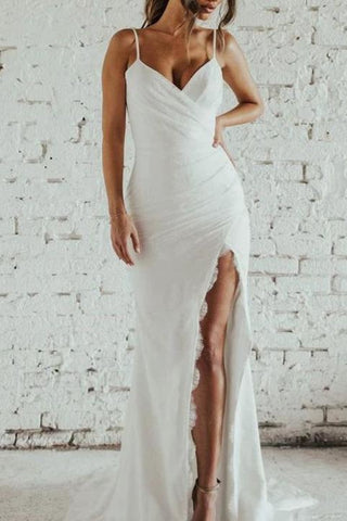 products/White_V-neck_Spaghetti_Straps_Long_Mermaid_Slit_Chiffon_Lace_Wedding_Prom_Dress_509.jpg