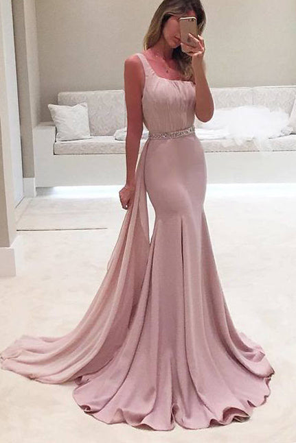 Chic Mermaid Long Prom Dress Bridesmaid Dress For Sale