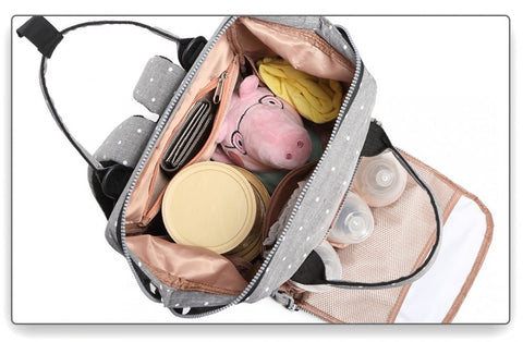 Baby changing bag backpack high capacity