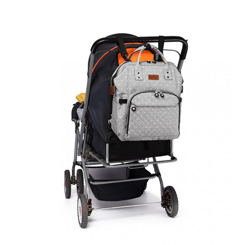 baby backpack on pushchair
