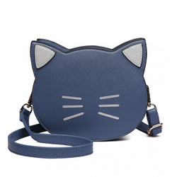 Cat Crossbody Bag - Navy