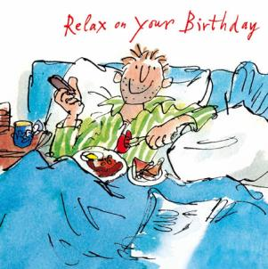 Quentin Blake - Breakfast in Bed
