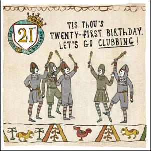 Hysterical History - 21st Birthday
